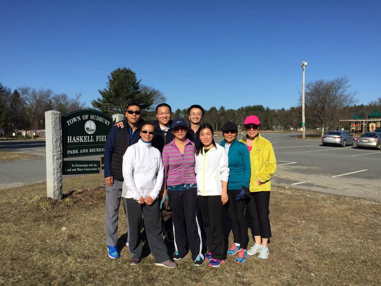 Sudbury Runners held its first group run on April 12, 2015